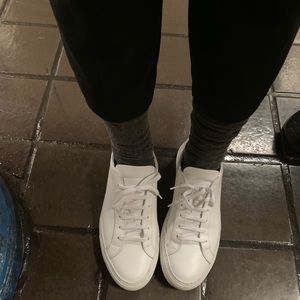 Common projects white sneakers, authentic